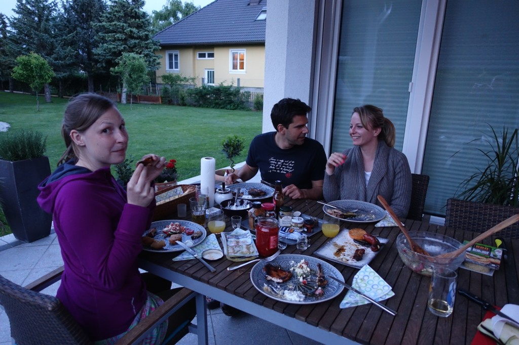 Danke an Magda und Phoivos für die österreichisch-griechische Gastfreundlichkeit.