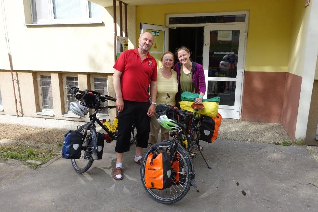 Gastgeber Nummer 2 in Zvolen: Jan und Viera