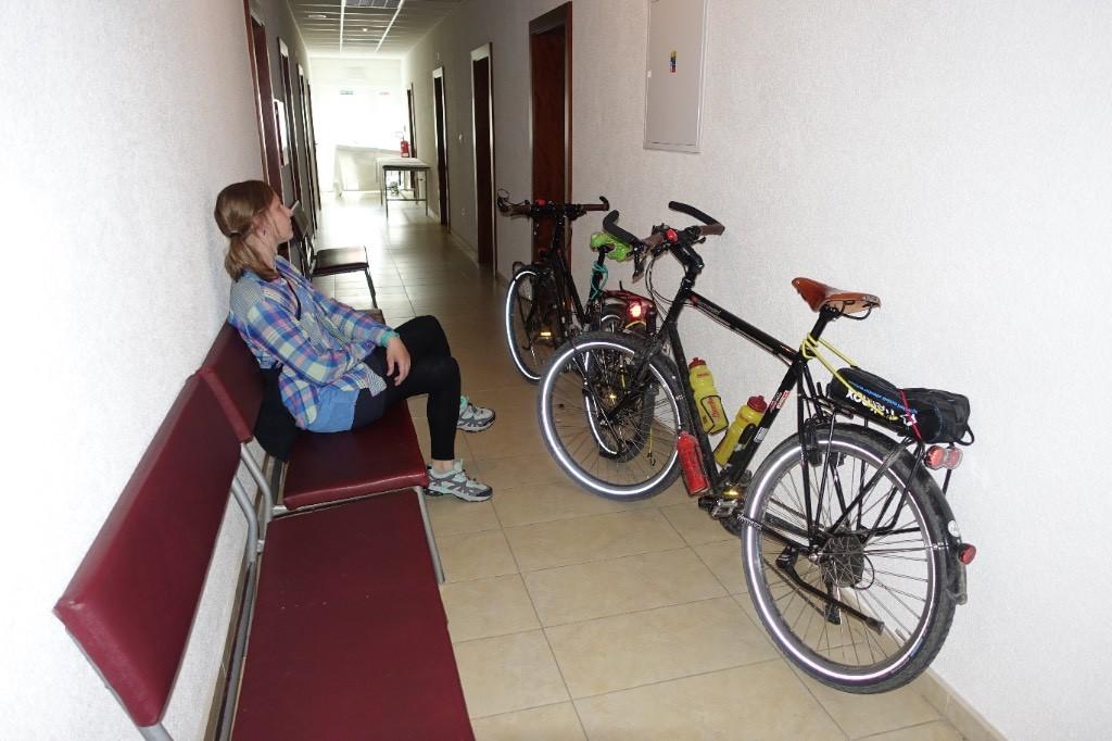 Unterkunft im Ärztezentrum in Nová Baňa.