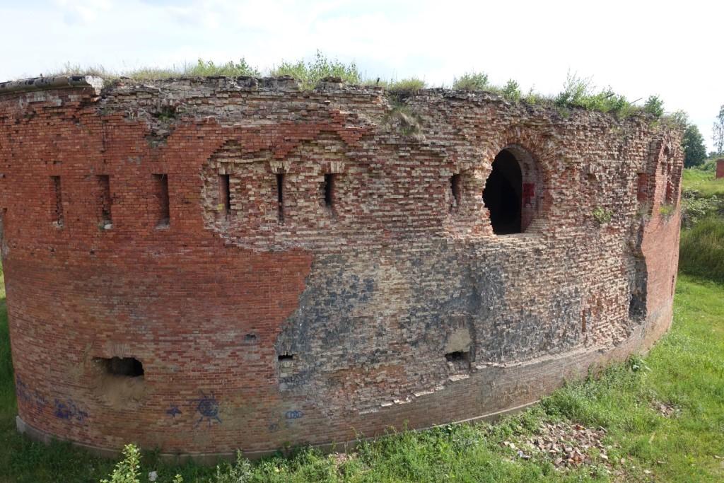 """die """"tolle"""" Burg zu Babrujsk"""