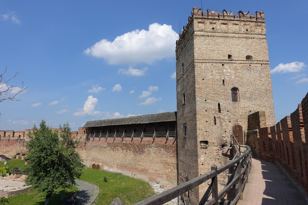 the castle of Lutsk