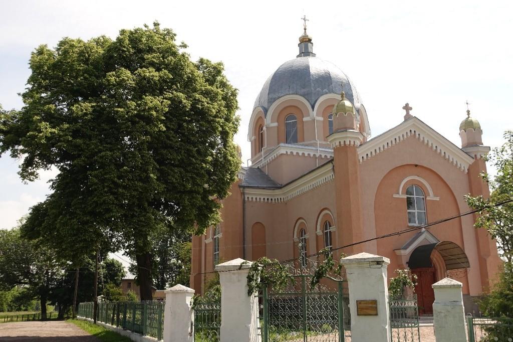 Die Kirchen sehen in der Ukraine schon etwas anders aus