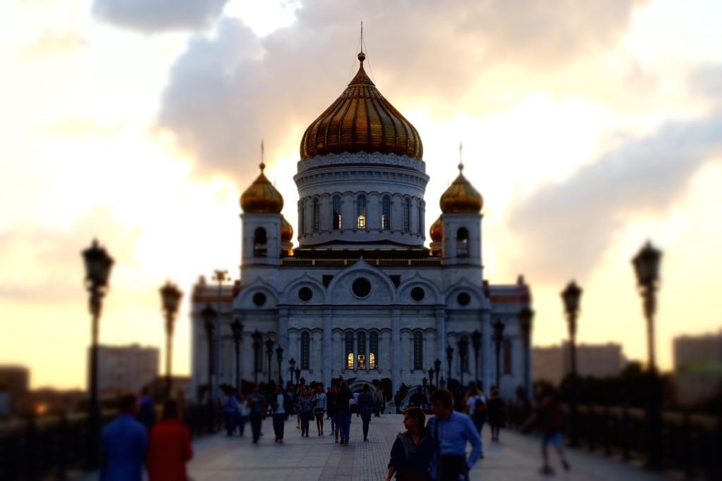 ooooh, da war's besonder schön, bei der Christ-Erlöser-Kathedrale!