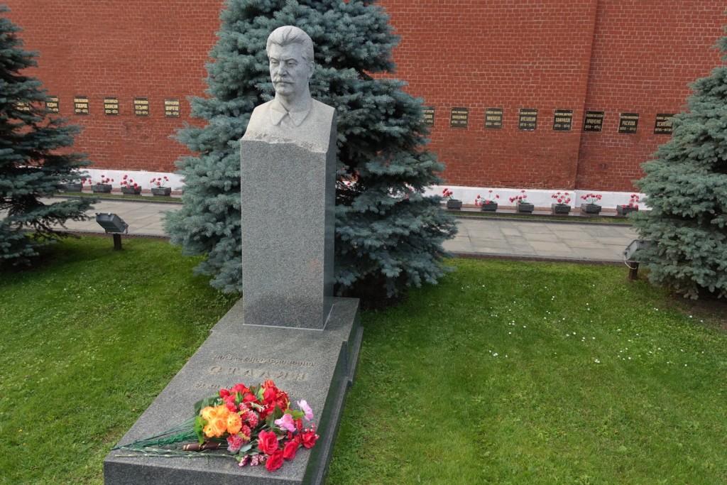 der echte Stalin und wo er ruht