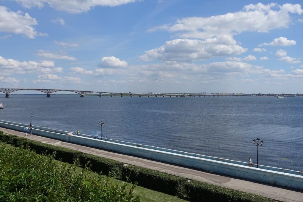 das Volga-Flüsschen