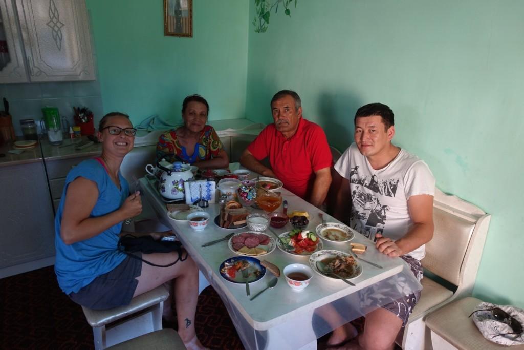 Abendessen mit den Eltern
