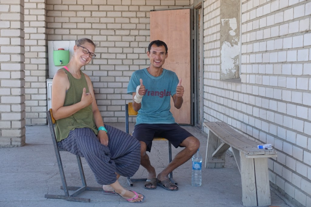 Alexandra and always sunny Ruslan