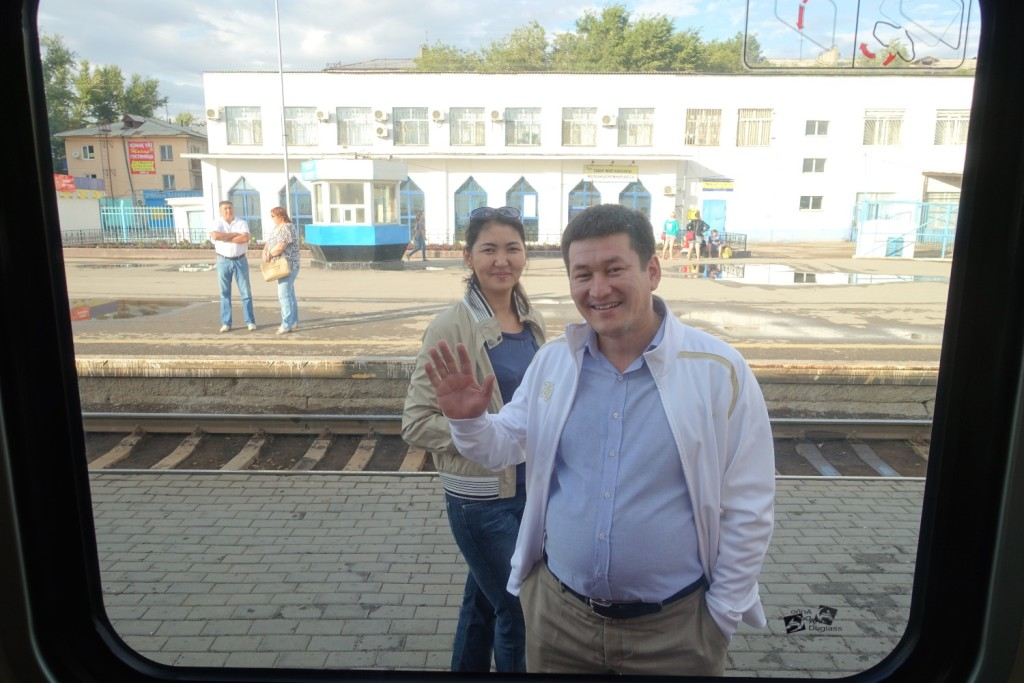 Ruslan winkt zum Abschied