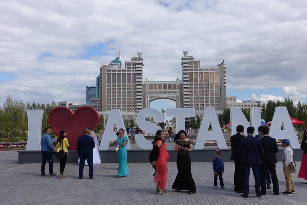 August, der Hochzeitsmonat in Kasachstan