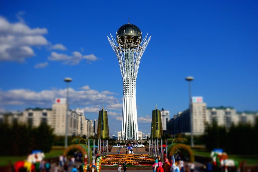 Bajterek tower