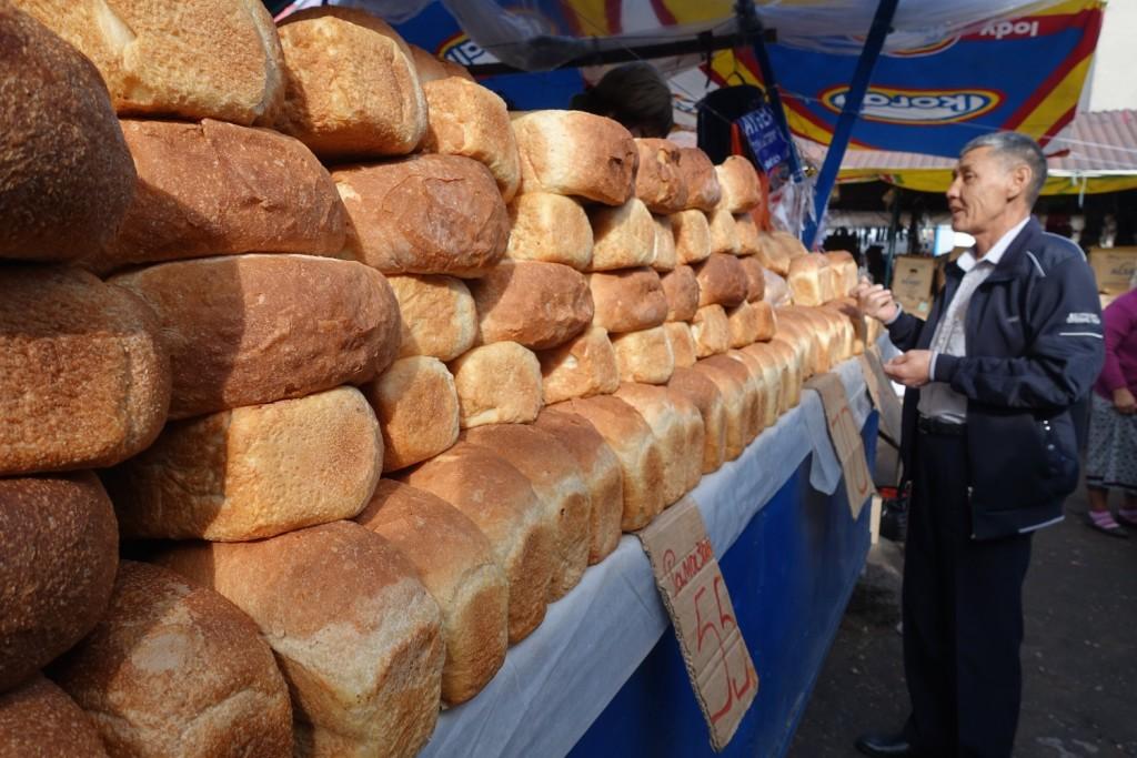 ein bisschen Brot...