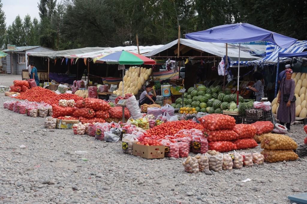 Obst und Gemüse für unterwegs