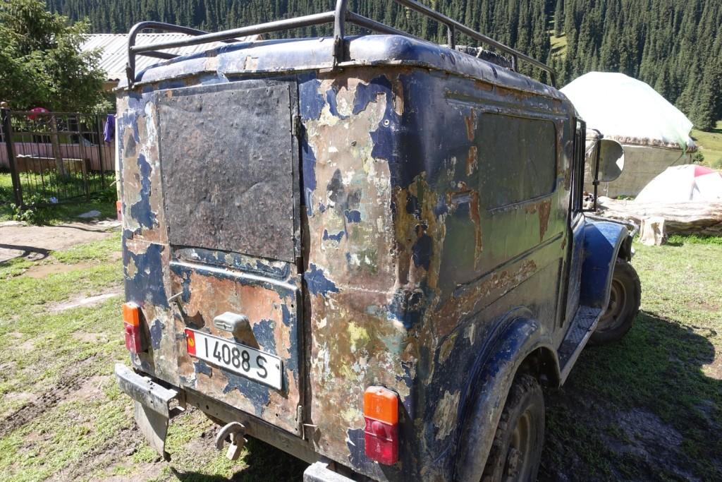 glücklicherweise ein anderer Jeep ;-)