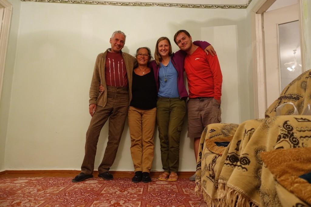 mit dem lieben Schweizern Roger und Silvia