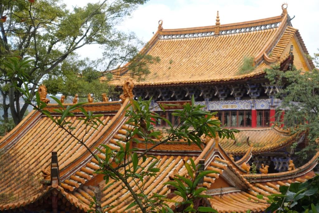das namensgebende Bambusdach