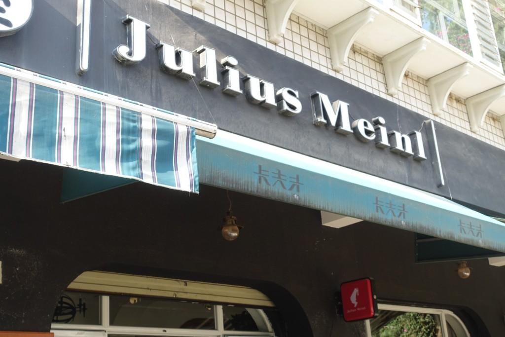 scheinbar ein original Julius-Meinl-Café :-D