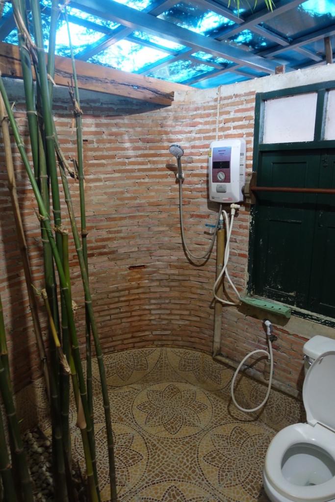 unser offenes Badezimmer