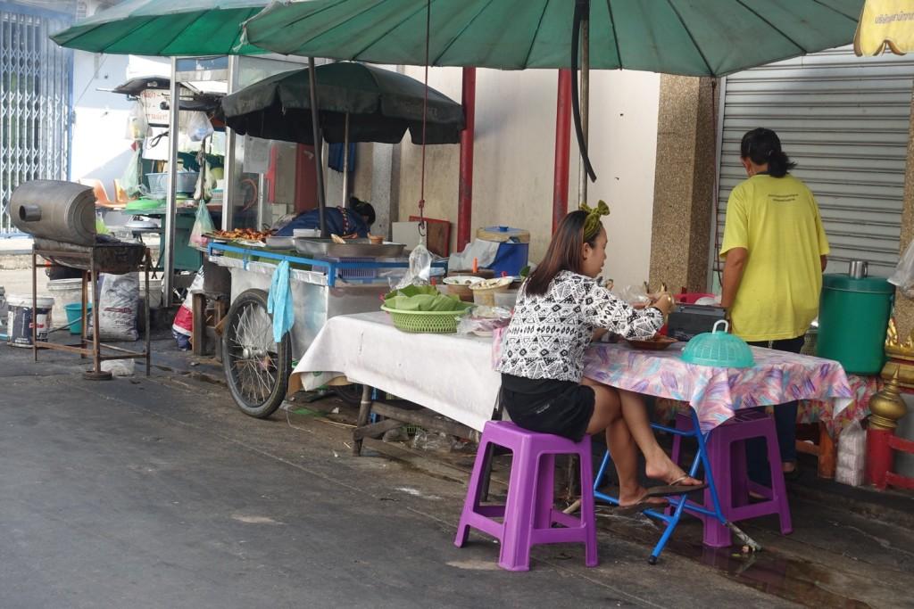 typischer Thai-Essensstand