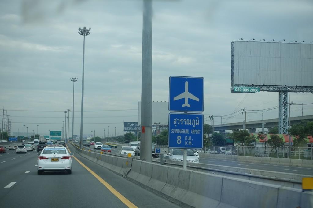 Ab zum Flughafen!