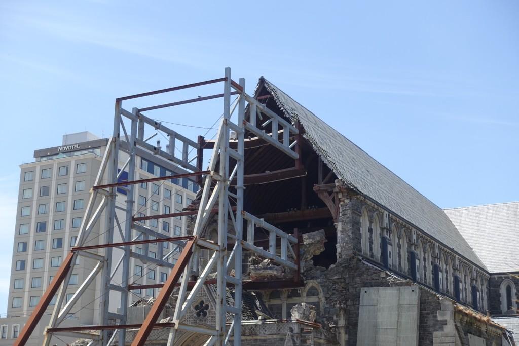 Erinnerungen an das große Erdbeben in Christchurch
