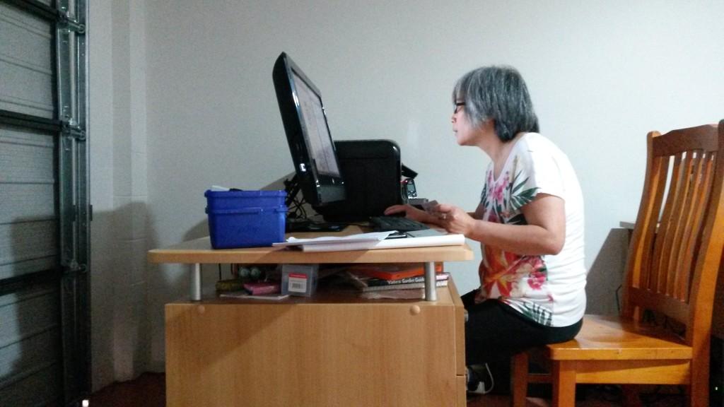 unsere Übersetzerin