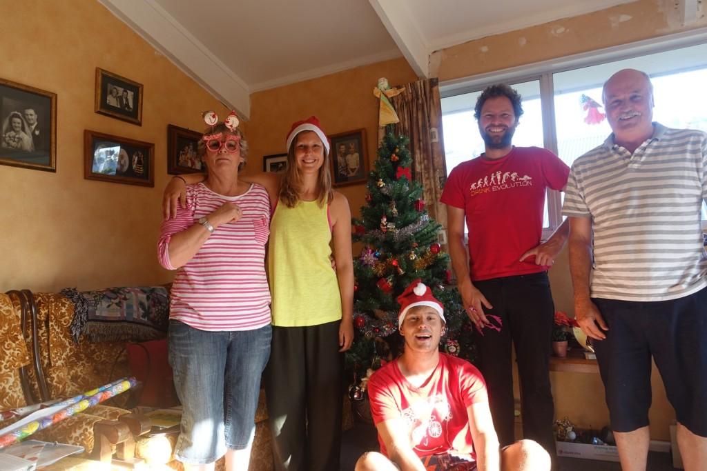 mit Kathy, Mike und Paul