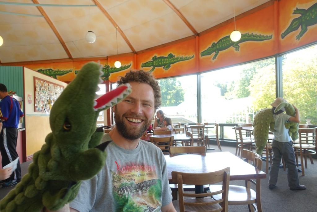 Mike und das Krokodil