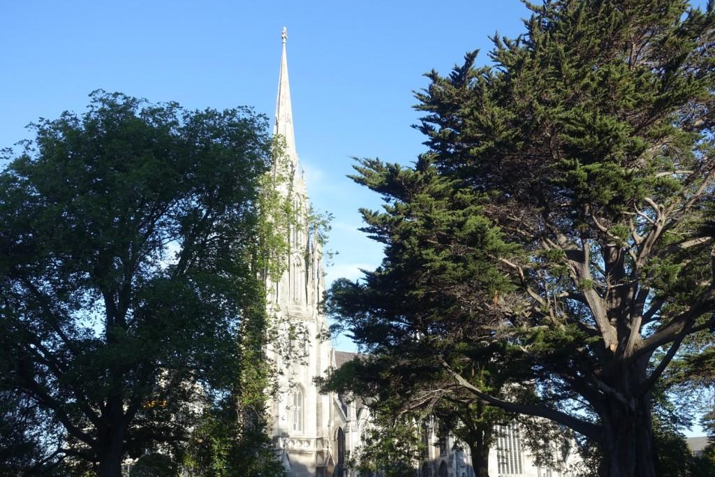 """Dunedins """"Votivkirche"""" ;-)"""