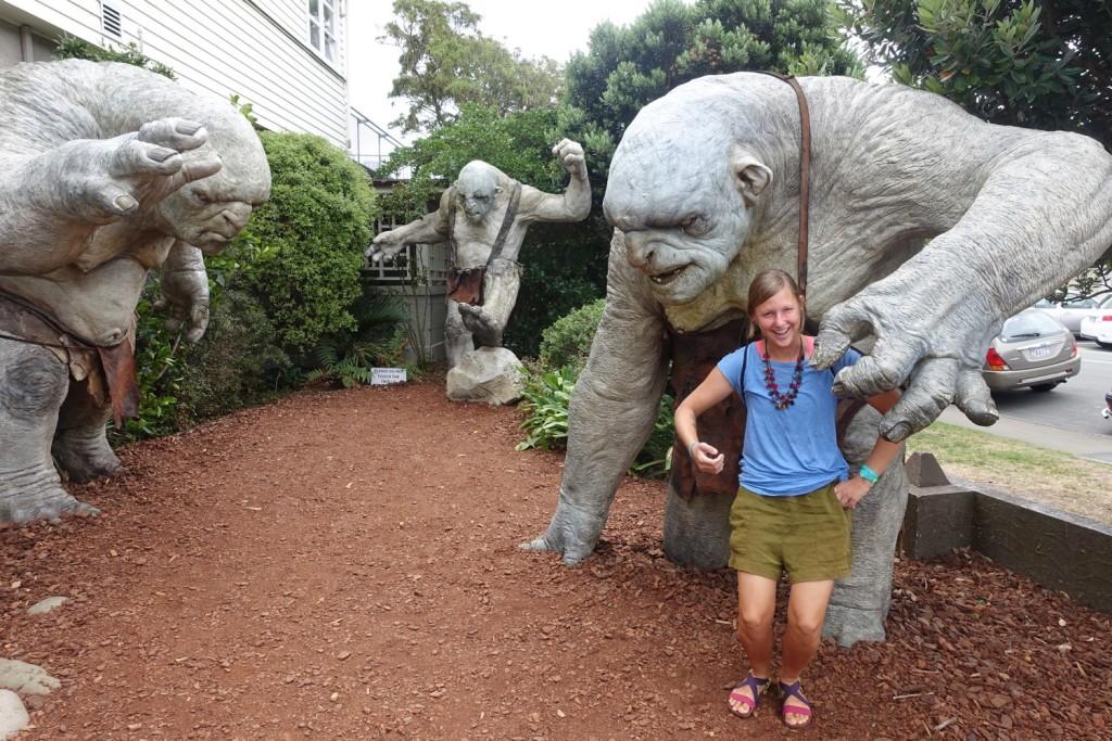 creepy statues