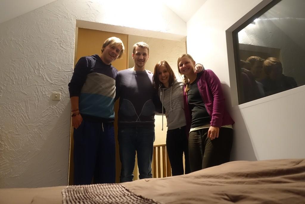 mit Florian und Laura