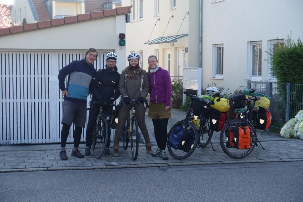 with Harald and Natalja