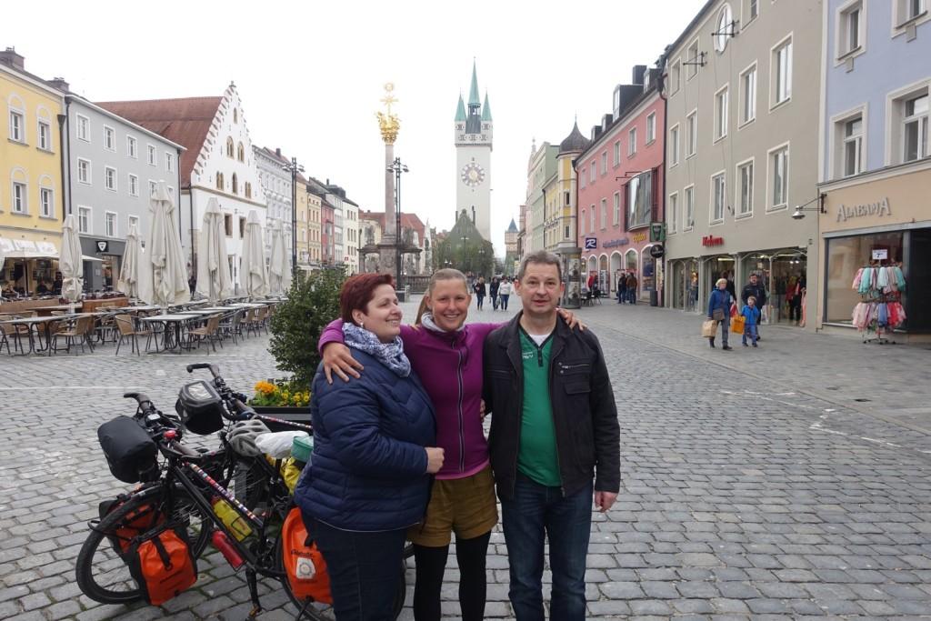 juhuuu, Alexandra mit Mama Stefanie und Papa Peter