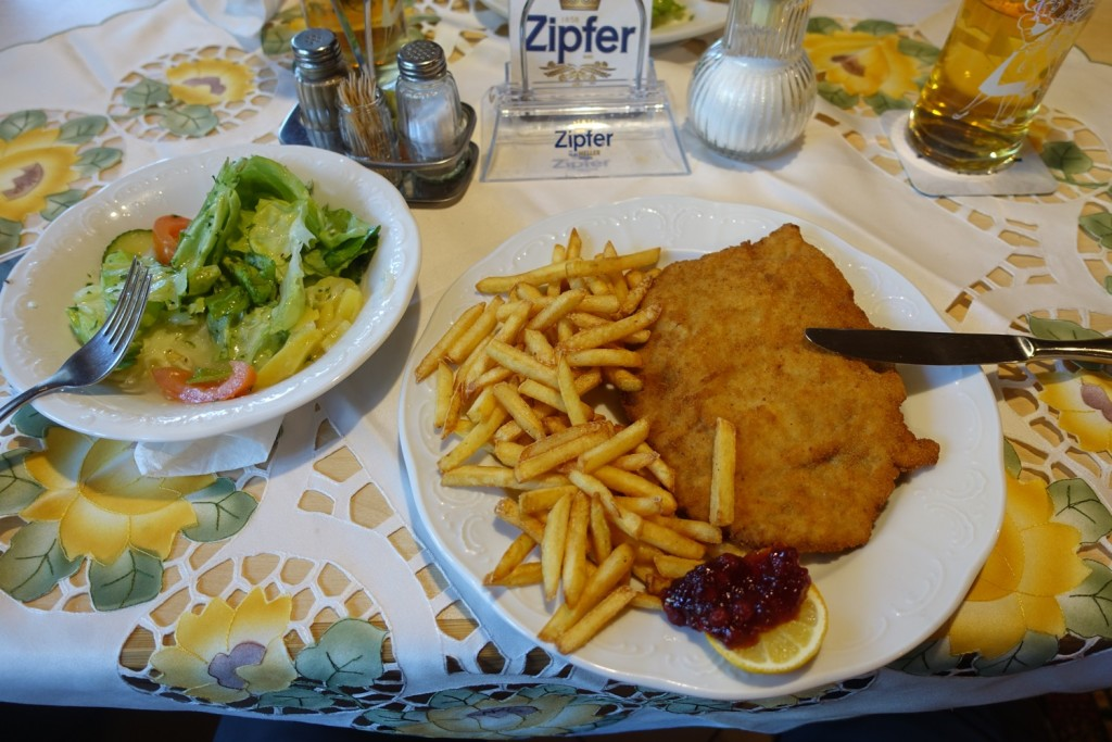 the first Schnitzel